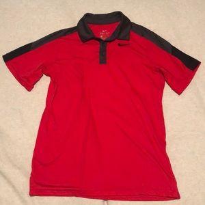 Boys Nike Dri-Fit Polo collared shirt